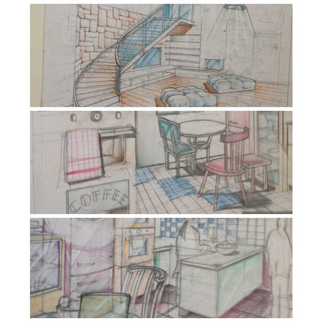 90 interior design drawing tips freehand architecture - Interior design for beginners ...