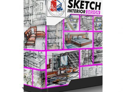 Interior Design Sketching Volume 1